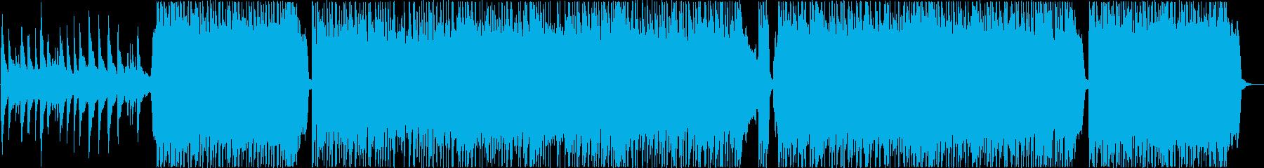 軽快な切ない青春感じるポップス風BGMの再生済みの波形