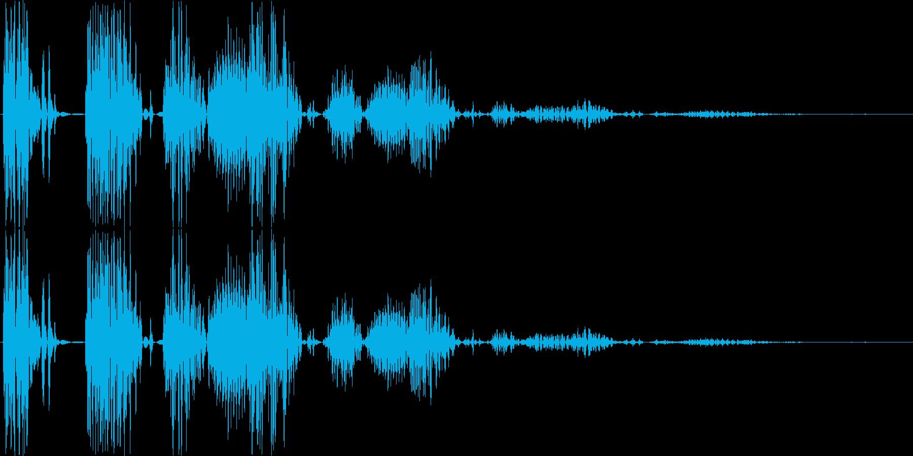 【ポコッ】ファミコン系 敵を倒す音_06の再生済みの波形