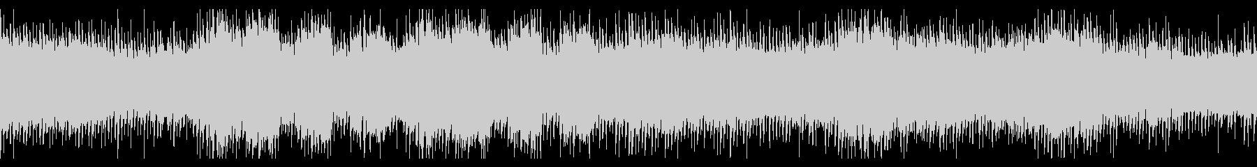 U2風の叙情的で切ないギターロックの未再生の波形