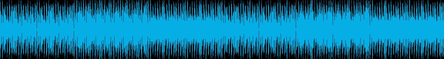 硬質でシンプルの再生済みの波形