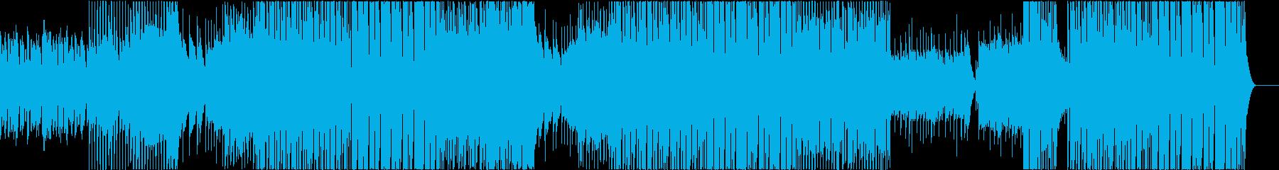 おしゃれでレトロなハウス EDMの再生済みの波形