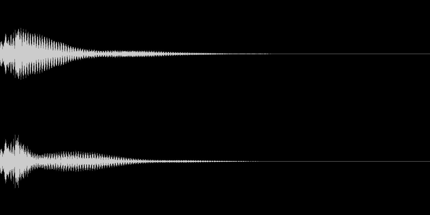 ポロンの未再生の波形