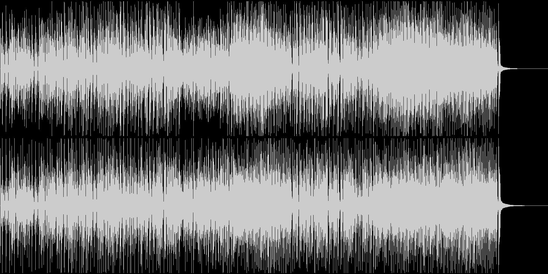 CMや映像におしゃれなジャズピアノロックの未再生の波形