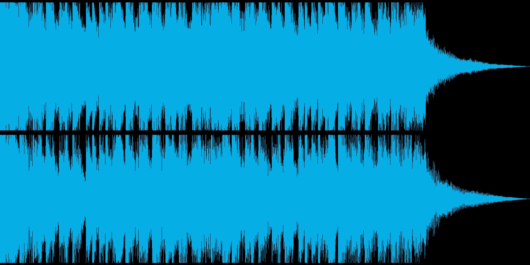 企業VPに明るい爽やかギターShort5の再生済みの波形