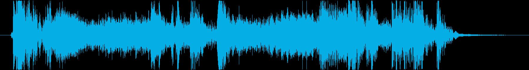 フィクション 力学 機械変換01の再生済みの波形
