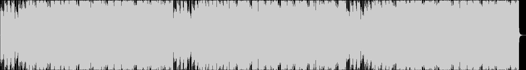 アシッドジャズ風EDMの未再生の波形