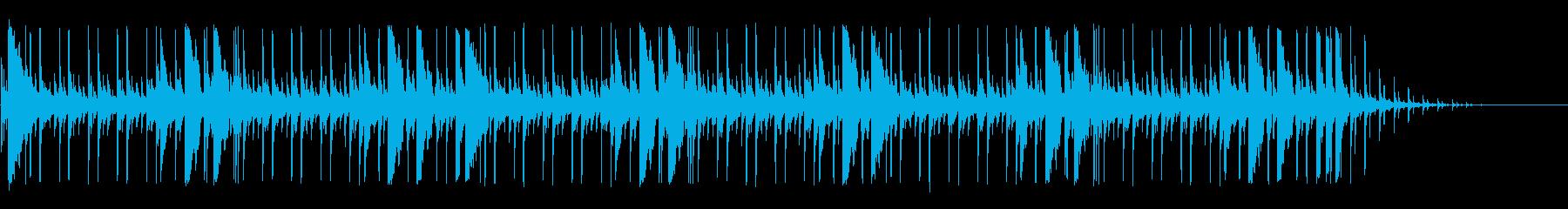 アコーステック アクション 繰り返...の再生済みの波形