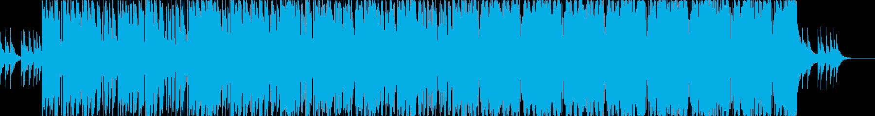アジアン/怪しげ/暗め/ビート感/中東の再生済みの波形