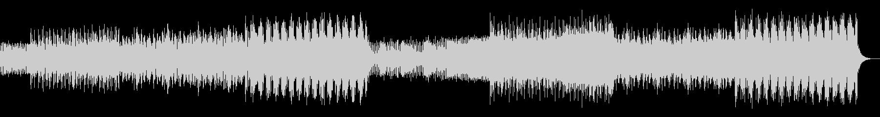 シンプルなアルペジオのテクノ01の未再生の波形