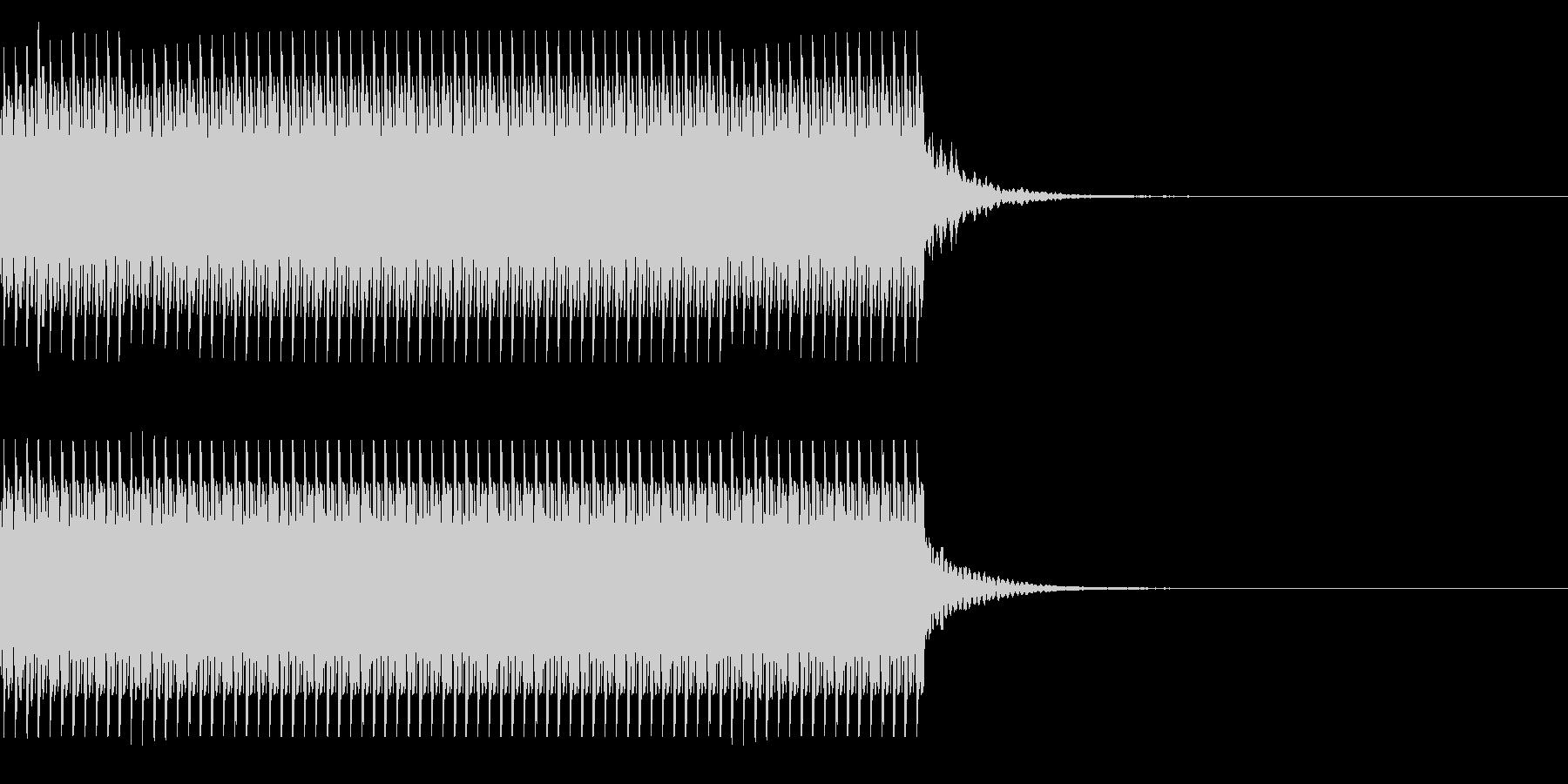 コイン80枚獲得 集計 チャリン の未再生の波形