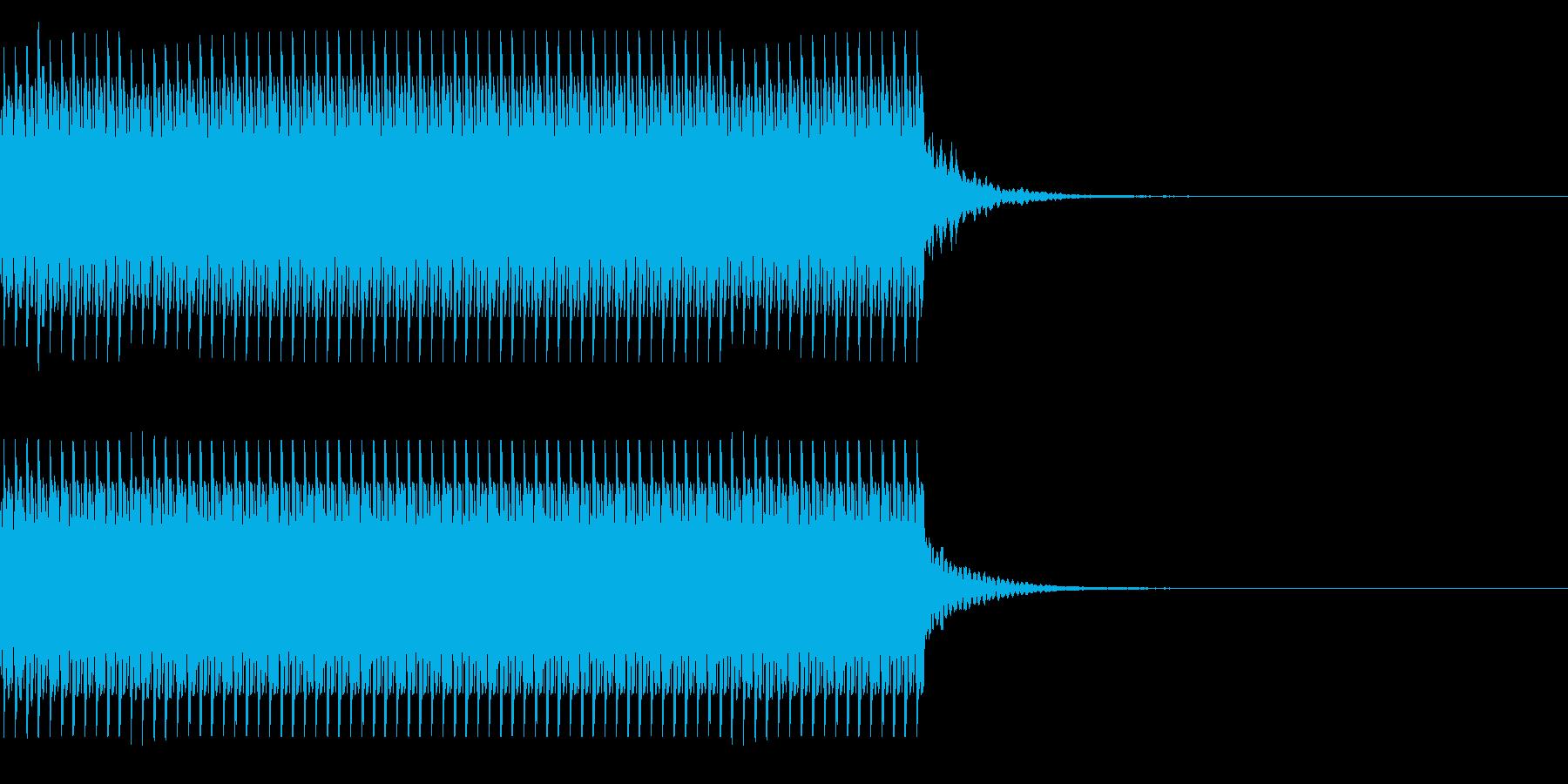 コイン80枚獲得 集計 チャリン の再生済みの波形