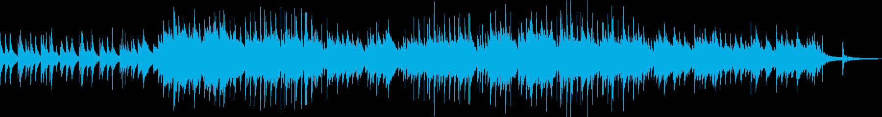 企業VPや映像/春・爽やかピアノソロEDの再生済みの波形