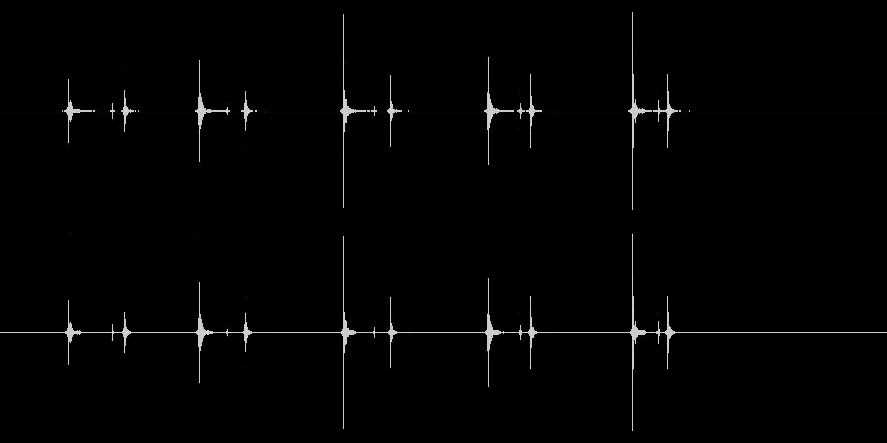携帯電話 ハードウェア02-07(ボタンの未再生の波形