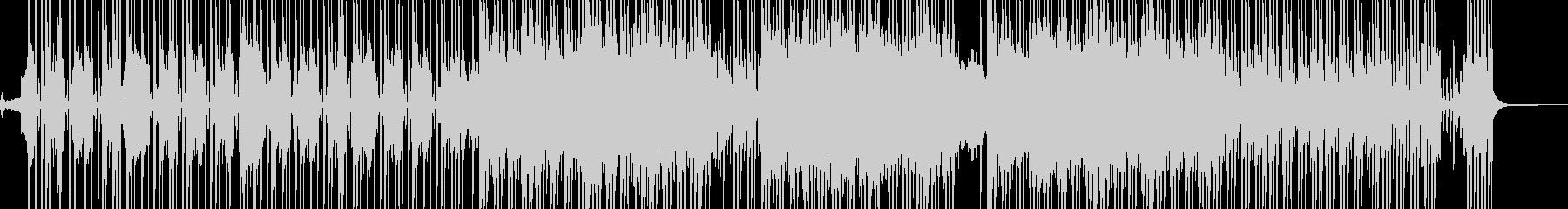 ビターエンドの切ないR&B 短尺の未再生の波形