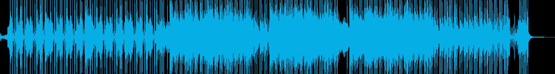 ビターエンドの切ないR&B 短尺の再生済みの波形