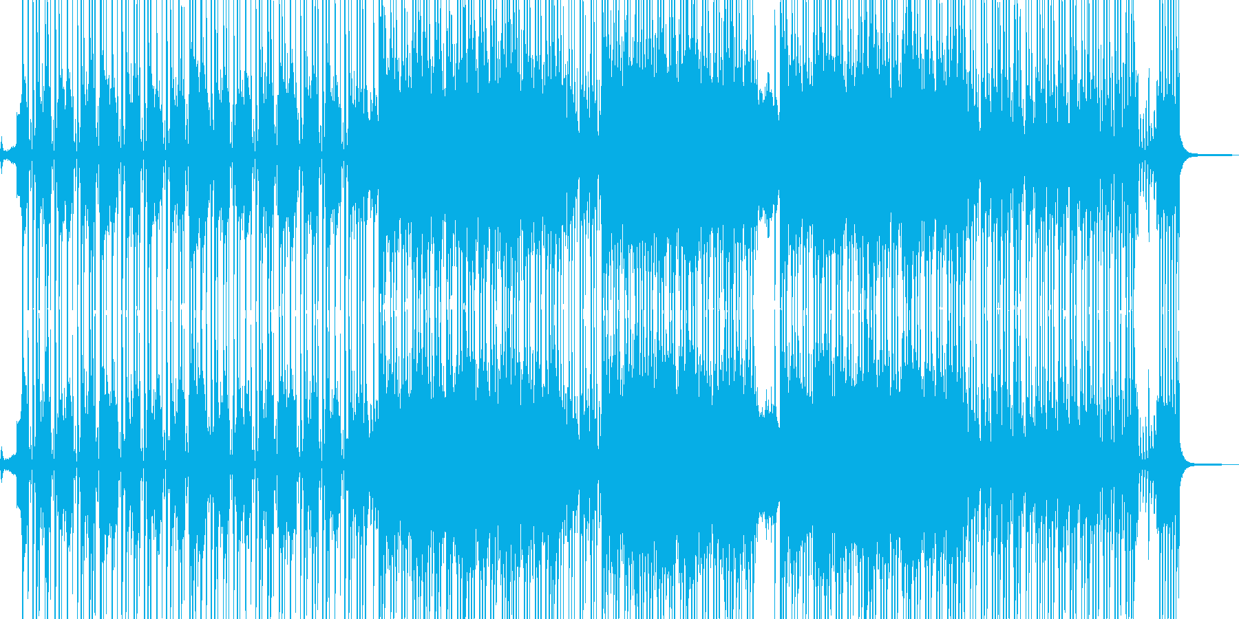 ビターエンドの切ないR&B 短尺★の再生済みの波形