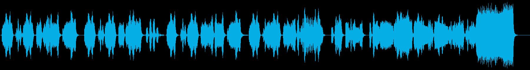 間のぬけたコミカルな木管四重奏の再生済みの波形