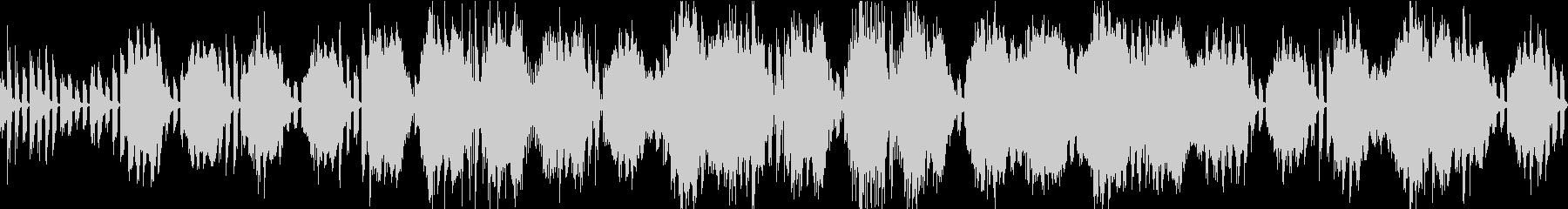 ゲーム向け洞窟ダンジョン探索ループBGMの未再生の波形