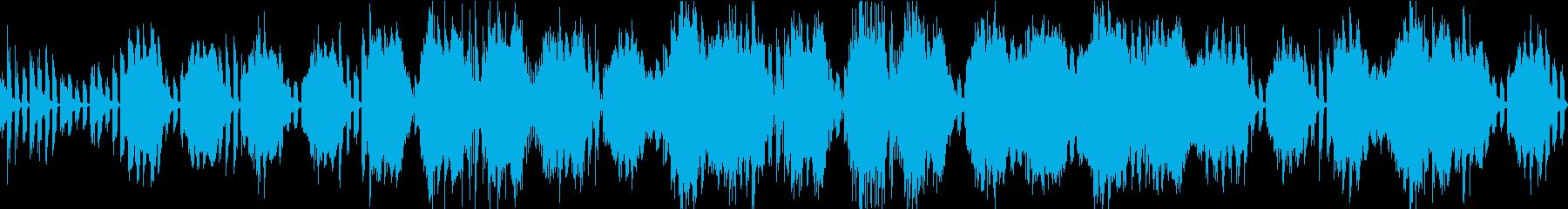 ゲーム向け洞窟ダンジョン探索ループBGMの再生済みの波形