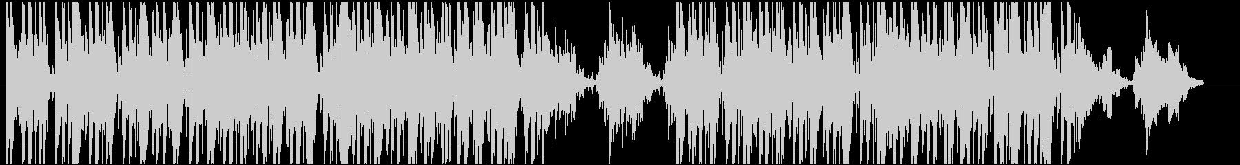 ジャジーなヒップホップの未再生の波形