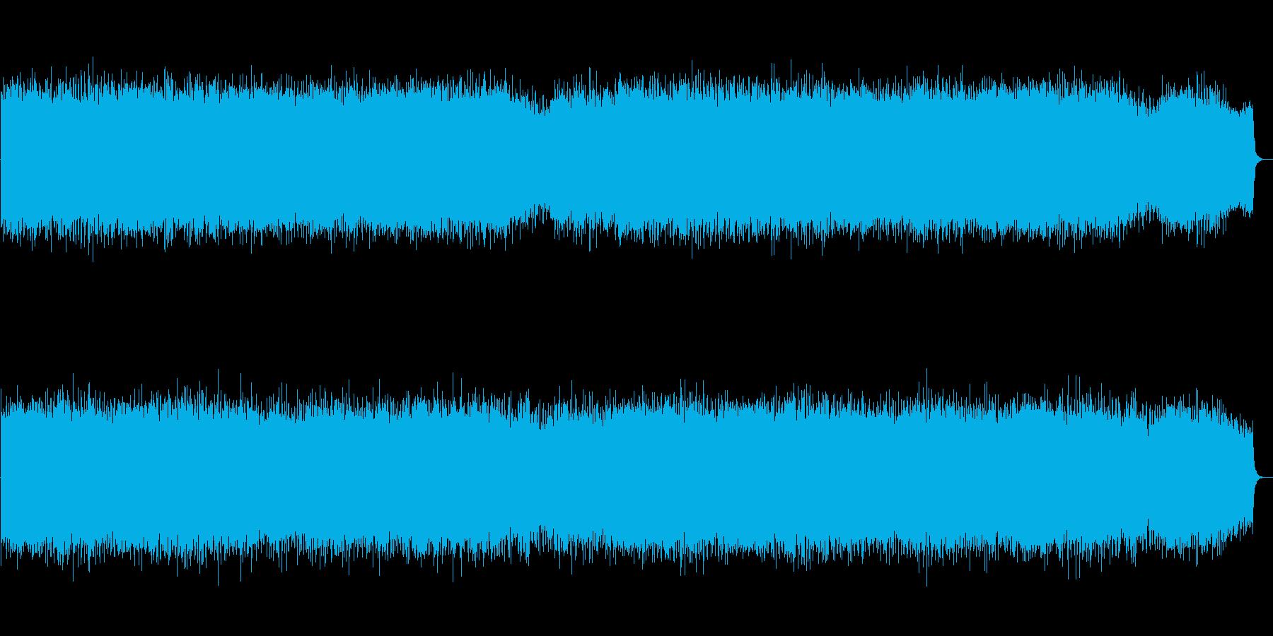 生演奏篠笛!かっこいい和風ロックバトル曲の再生済みの波形