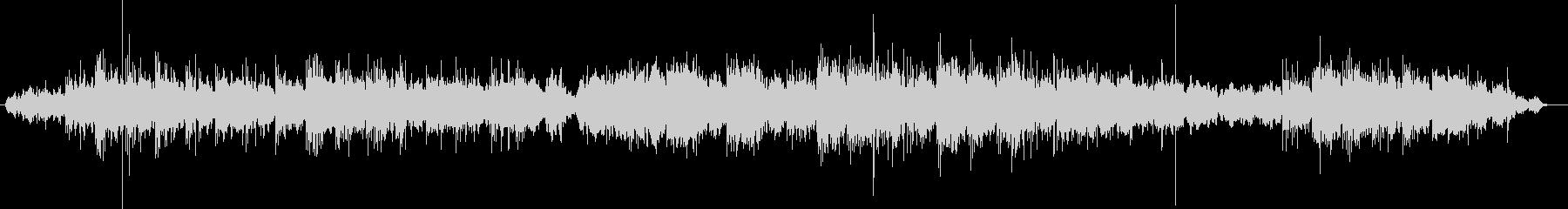 Mysterious slow tempo BGM's unreproduced waveform