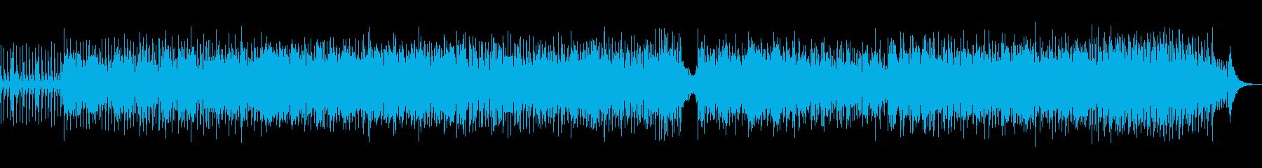 爽快感漂う雰囲気のボサノバの再生済みの波形