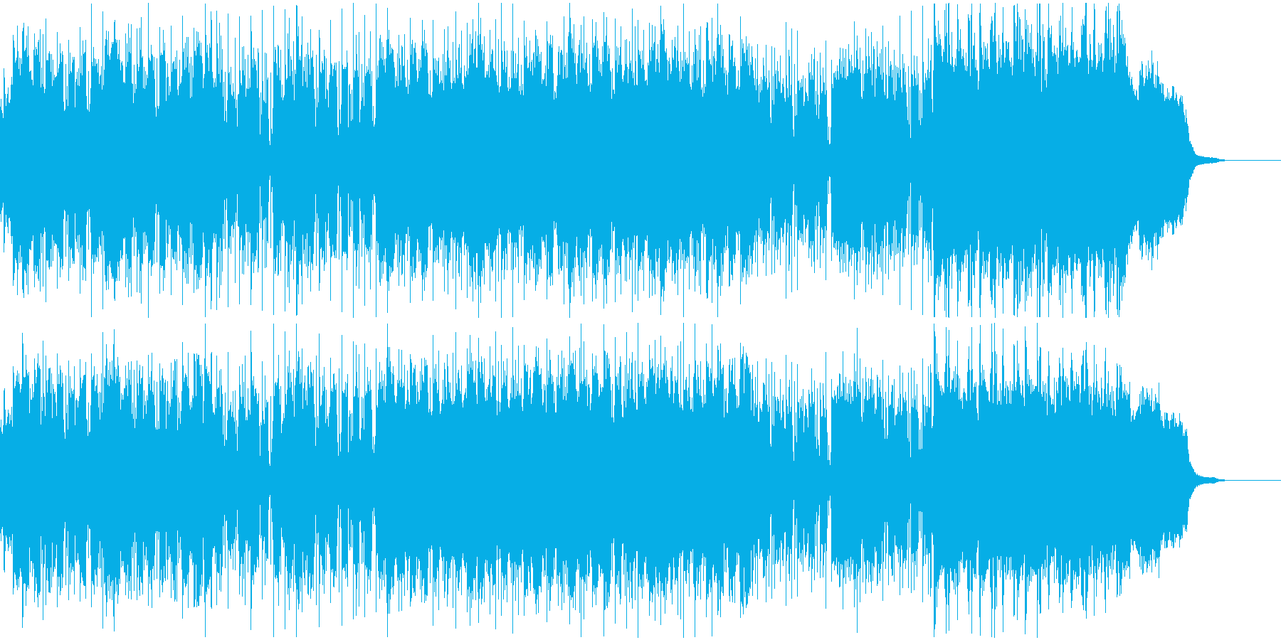 B'zのGt 松本孝弘 氏へ捧げた曲の再生済みの波形