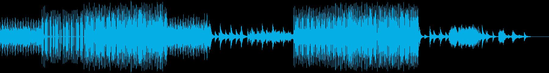 不思議な旋律のミステリアスなアンビエントの再生済みの波形
