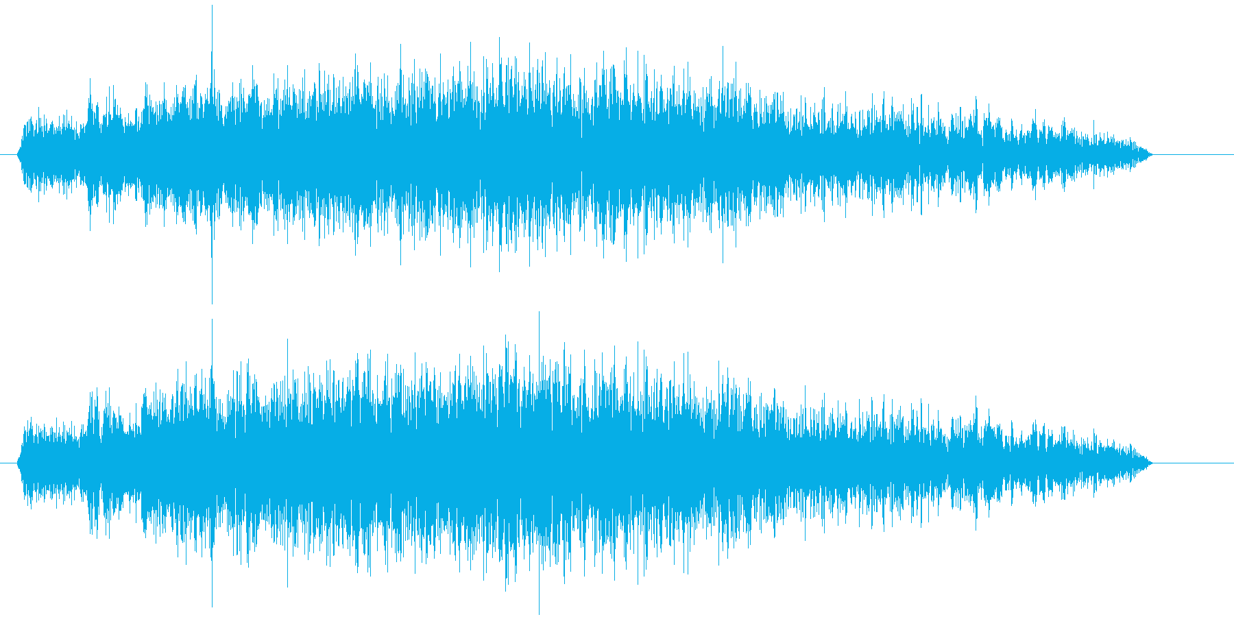 Taylorcraft:着陸インテ...の再生済みの波形