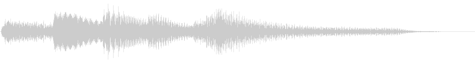短いピアノソロのジングル_サウンドロゴの未再生の波形