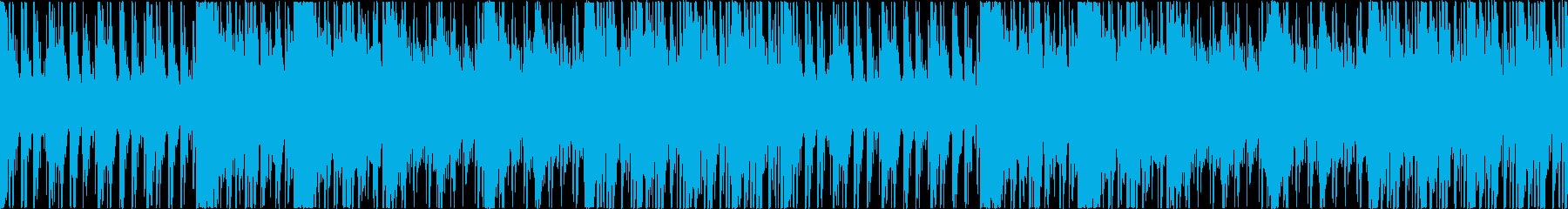 打楽器のみの壮大なリズムBGM【ループ】の再生済みの波形