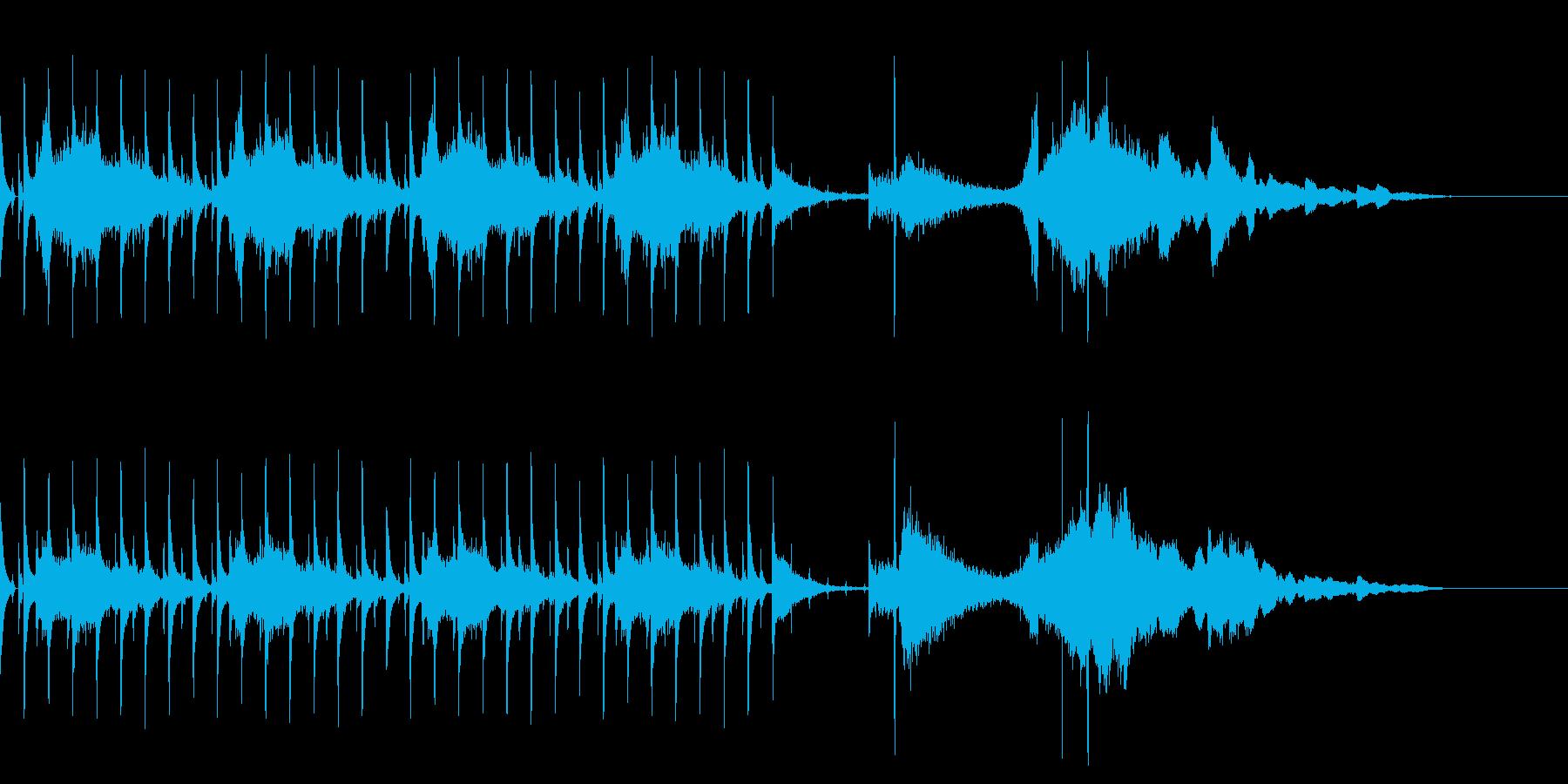 OP、ENDにも使える奇妙ビートボイスの再生済みの波形