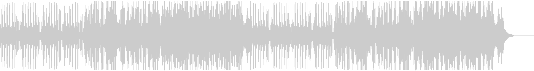 ギャグ、茶番に合うピアノ主体のBGMの未再生の波形