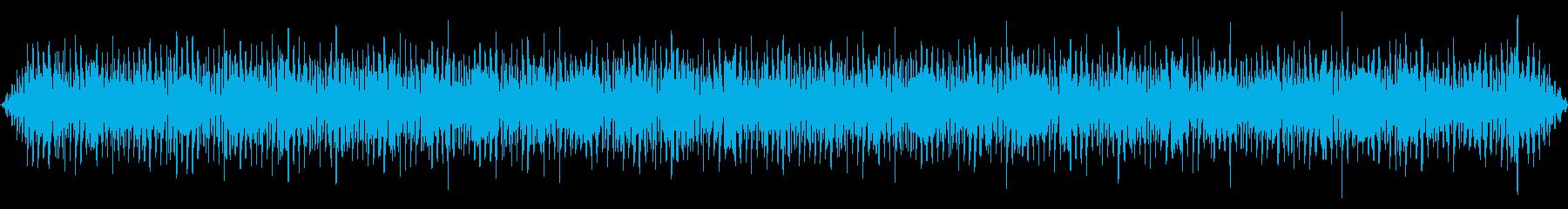 バス停車中(子供のしゃべる声がする)の再生済みの波形