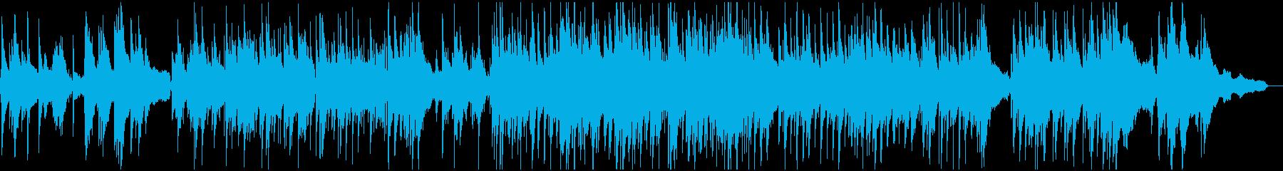 童謡『おぼろ月夜』のしっとりジャズの再生済みの波形