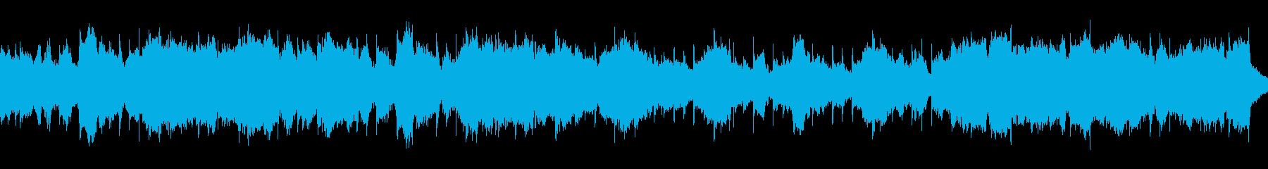 インド風エスニック音楽 シタール タブラの再生済みの波形