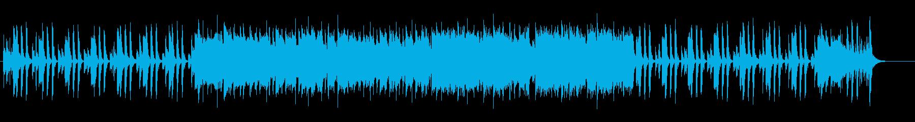 トランペットメインの軽やかな出発イメージの再生済みの波形
