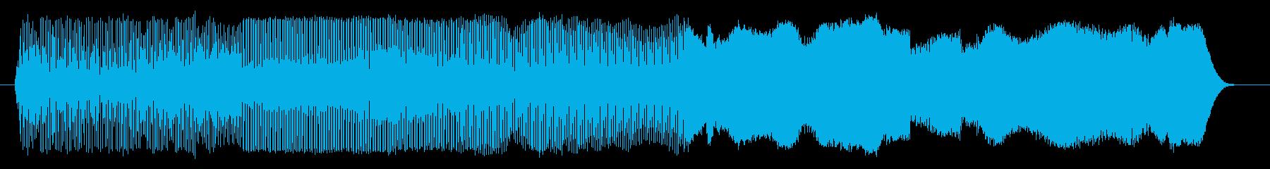 機械 スクリーミングシンセシーケン...の再生済みの波形