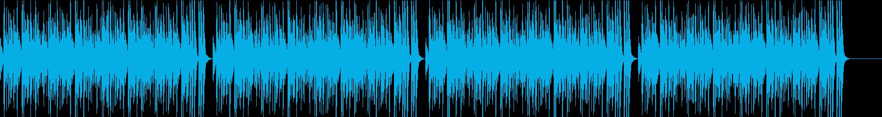 まったり常夏アイランドループBGMの再生済みの波形