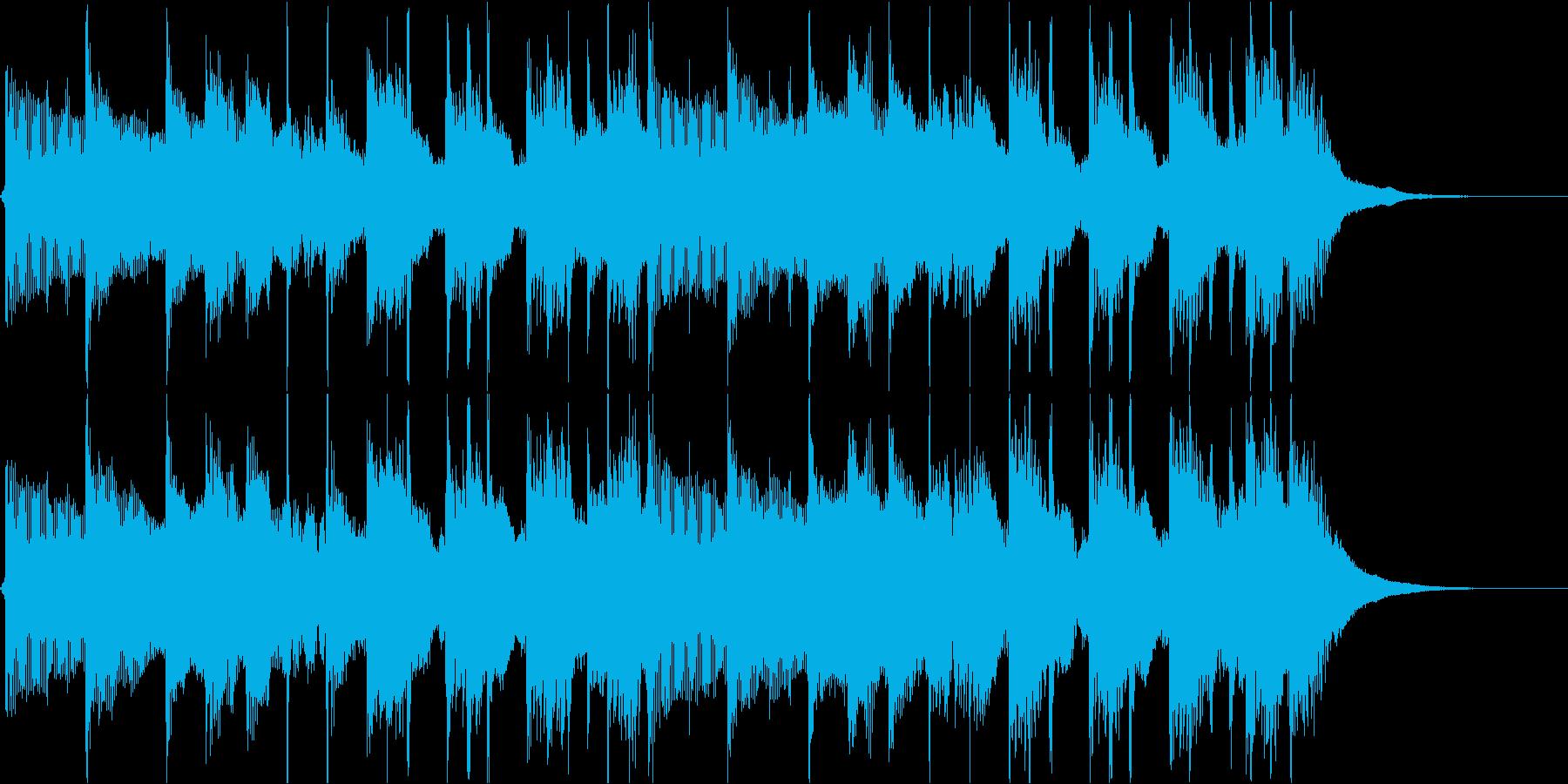 ウエディング、紹介系ジングルの再生済みの波形