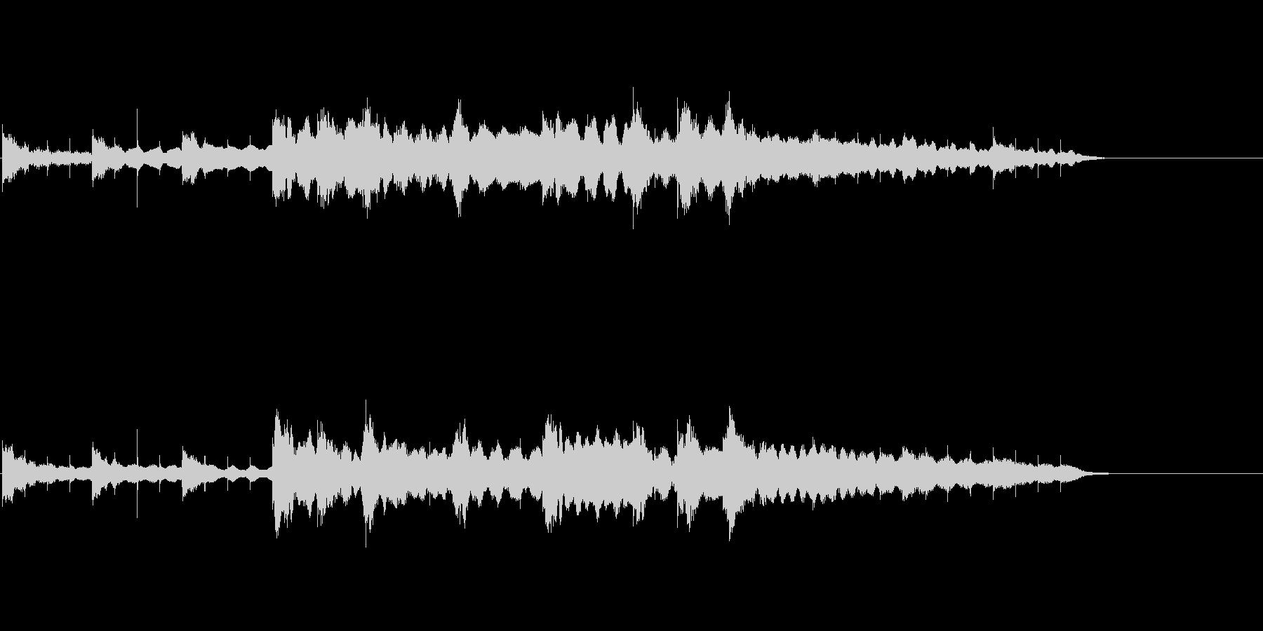 和楽器によるゲームオーバーBGMの未再生の波形