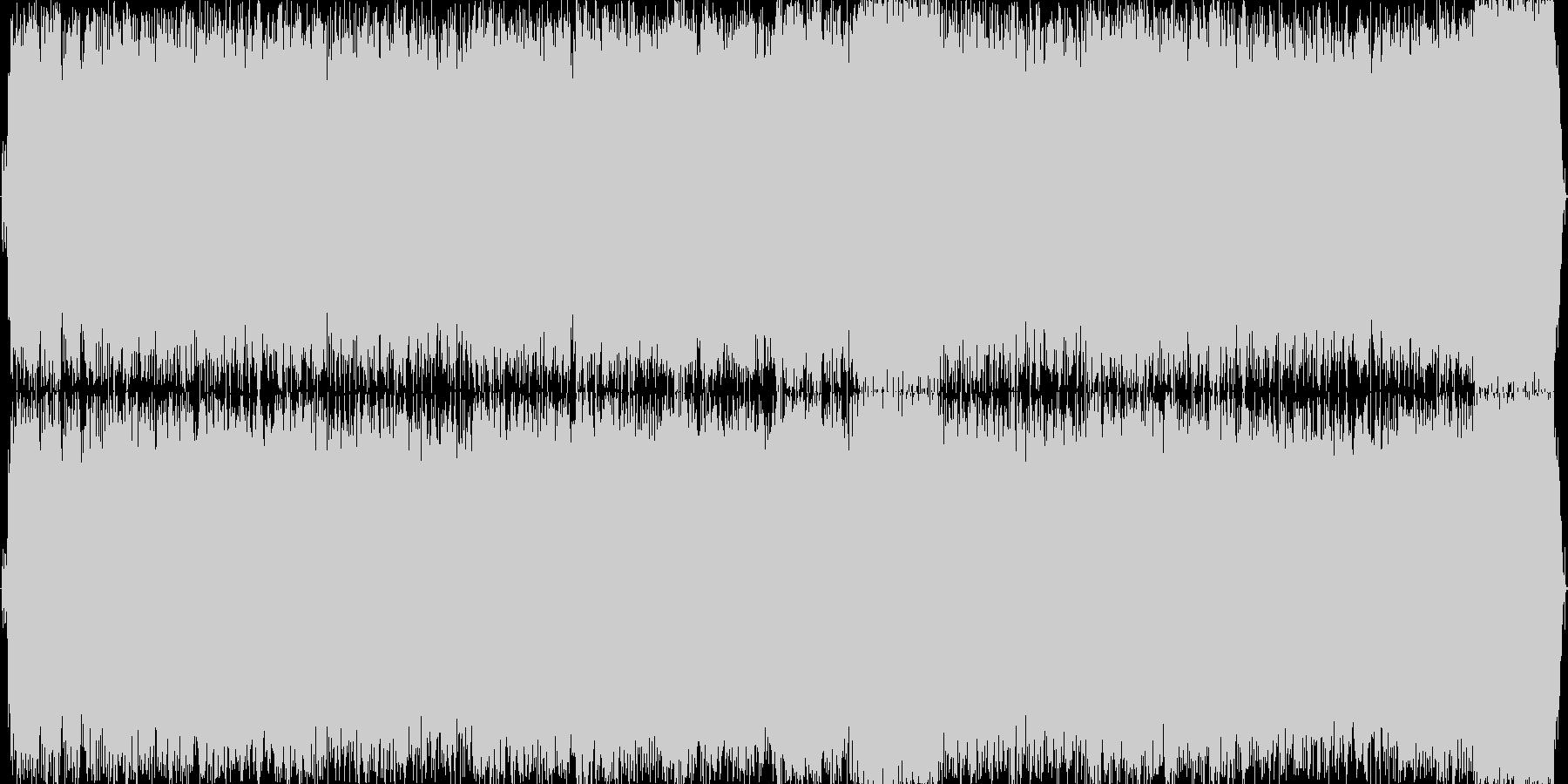 情熱的なギターソロのあるハードロックの未再生の波形