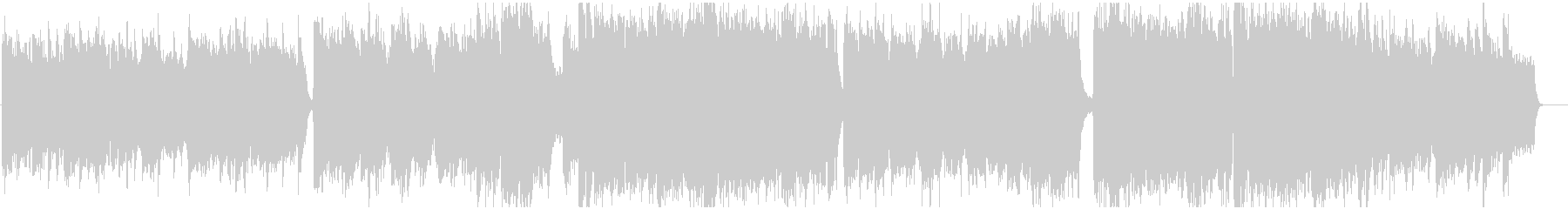 Dramatic, story-like BGM's unreproduced waveform