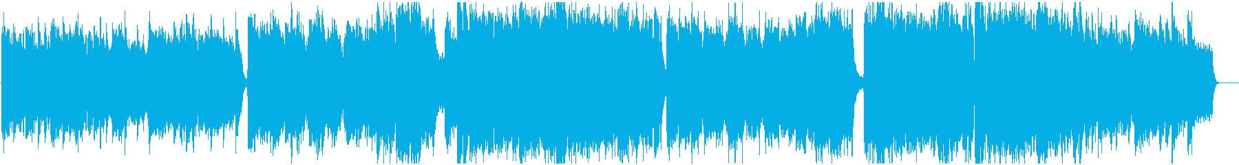 Dramatic, story-like BGM's reproduced waveform