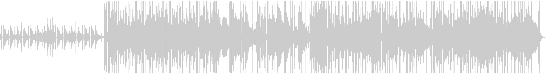ピアノを使ったジャジーでシックなBGMの未再生の波形