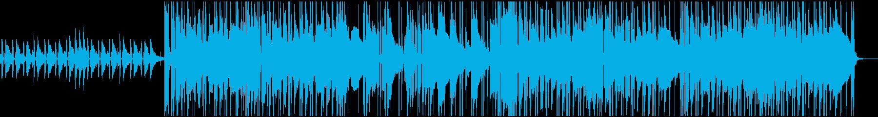 ピアノを使ったジャジーでシックなBGMの再生済みの波形