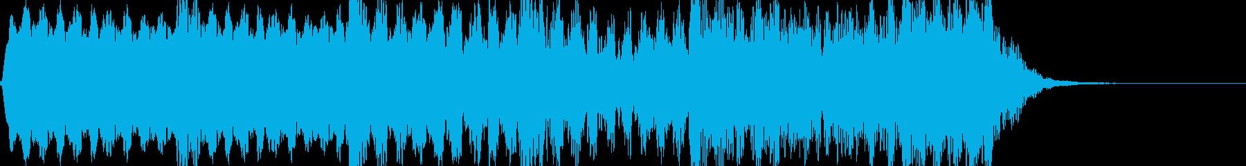 フルート 忍び寄る不穏な感じ コミカルの再生済みの波形