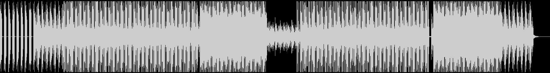 ピアノが印象的なヒップホップ系BGMの未再生の波形