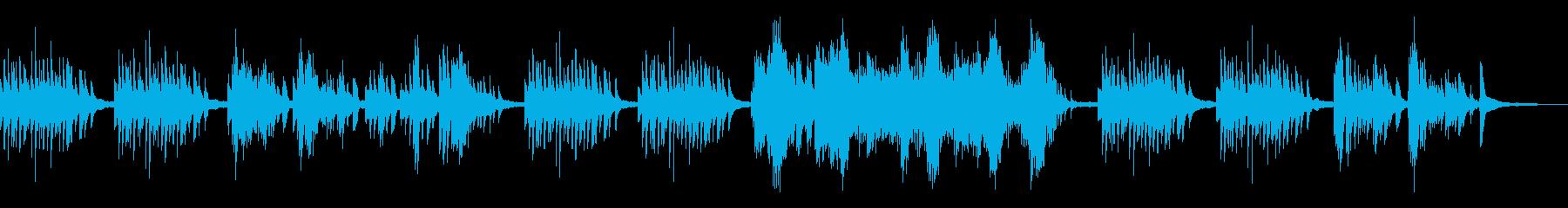 物静かな風景、和風曲6-ピアノソロの再生済みの波形